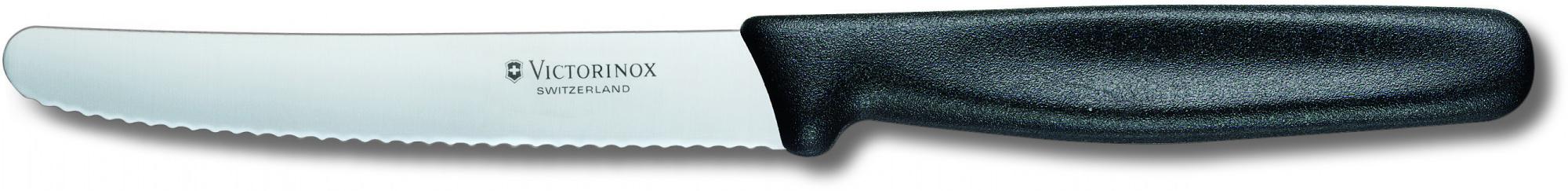 Victorinox 11 см (5.0833) - нож для томатов и сосисок (Black)