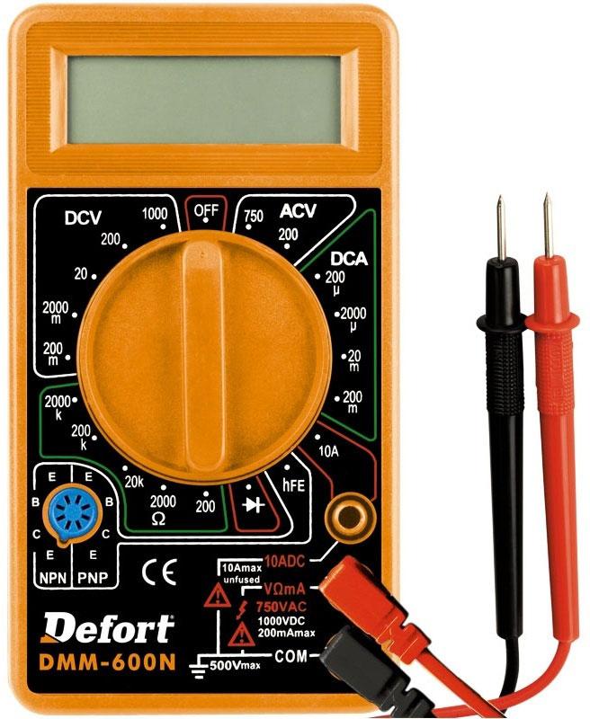 Мультитестер Defort DMM-600N (98298130)