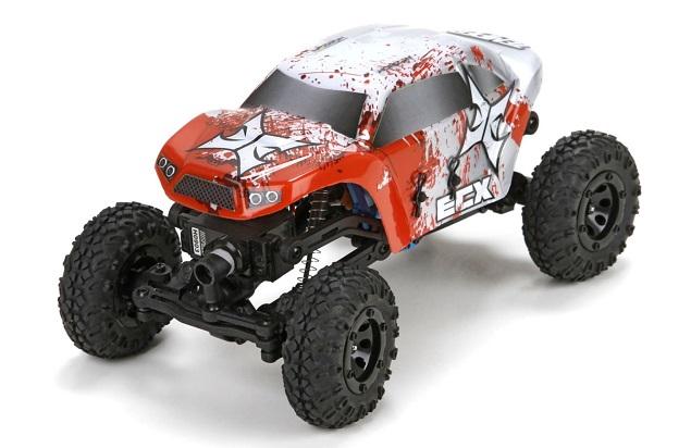ECX Temper Rock Crawler 1:24 - радиоуправляемый автомобиль (Red)