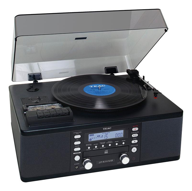 Teac LP-R550 USB - проигрыватель виниловых дисков (Black) teac pd 501hr black