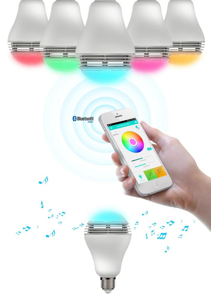 Mipow Playbulb Color (BTL100C) - умная лампочка