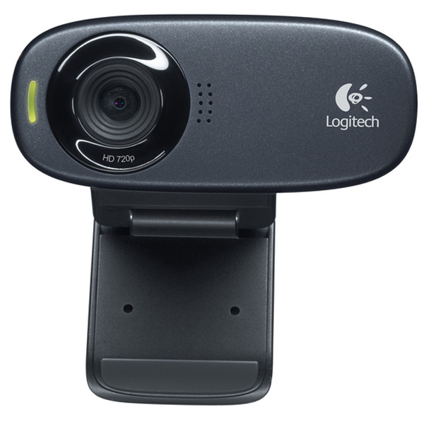 Logitech C310 - веб-камера (Black) logitech c615 black веб камера
