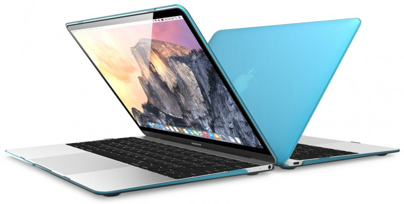 i-Blason Transparent Hard Shell Case for Macbook 12 Retina