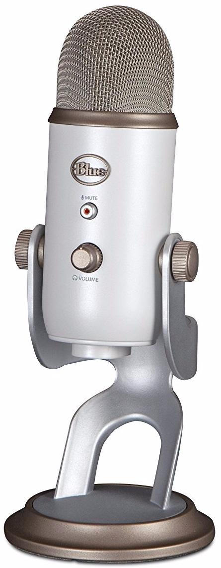 Blue Microphones Yeti - конденсаторный USB-микрофон (Vintage White)
