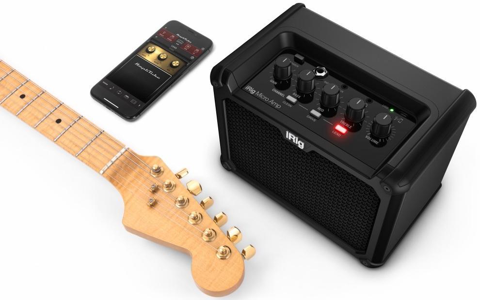 Гитарный усилитель IK Multimedia iRig Micro Amp (Black).