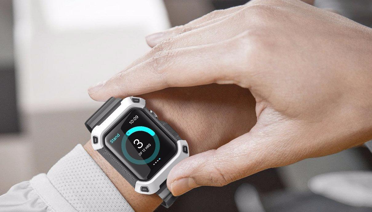 Чехол-ремешок Supcase Protective Case для Apple Watch 42mm (White)
