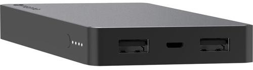 Внешний аккумулятор Mophie Powerstation Dual USB 6000 mAh (Space Grey)