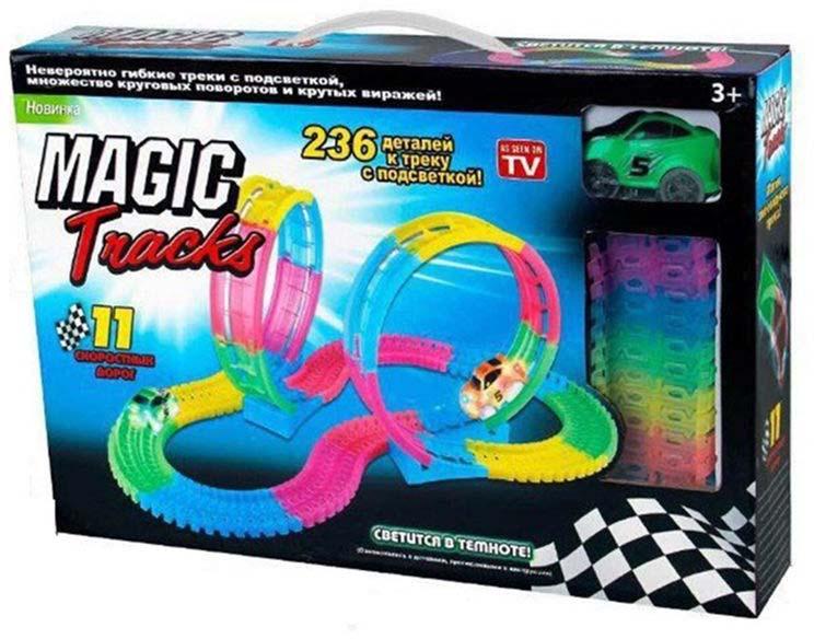 Конструктор Magic Tracks 236 деталей