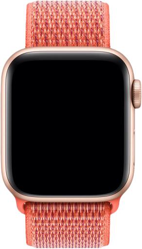 Ремешок COTEetCI W17 Magic Tape (WH5225-XT) для Apple Watch Series 2/3/4 38/40mm (Nectarine)