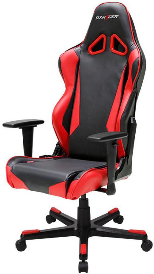 DXRacer Racing OH/RB1/NR - компьютерное игровое кресло (Black/Red)Офисные кресла и стулья<br>Компьютерное кресло<br>