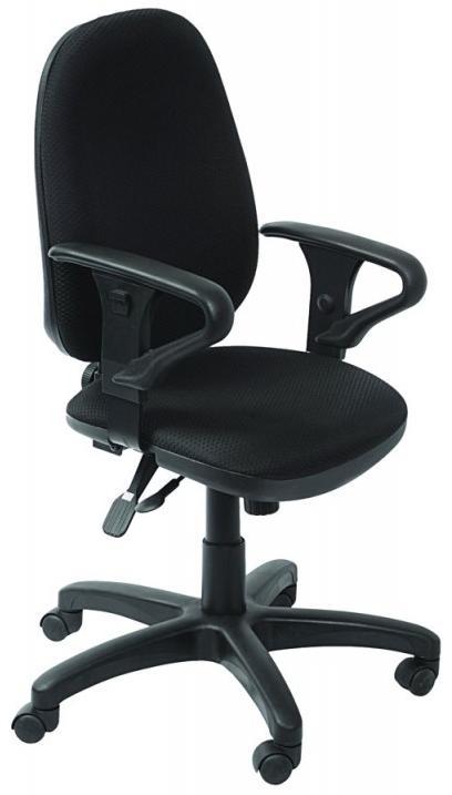 Бюрократ T-612AXSN - кресло офисное (Black) от iCover