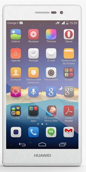 Смартфон Huawei Ascend P7 (White)