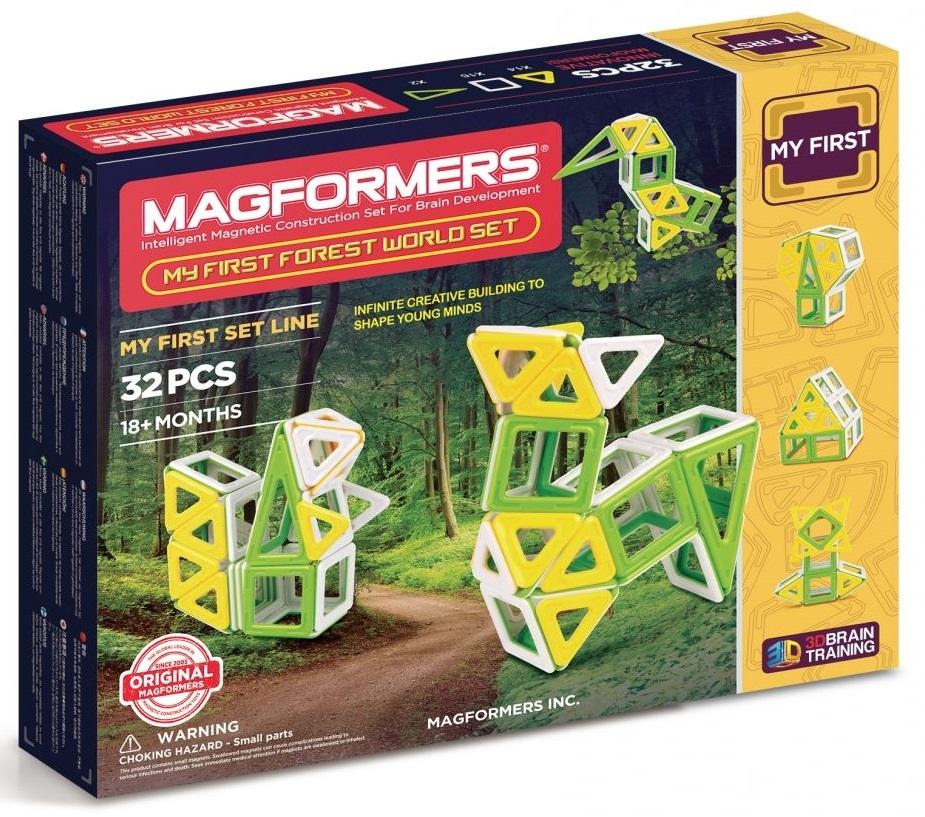 My First Forest SetКонструкторы для детей младшего возраста<br>Магнитный конструктор<br>