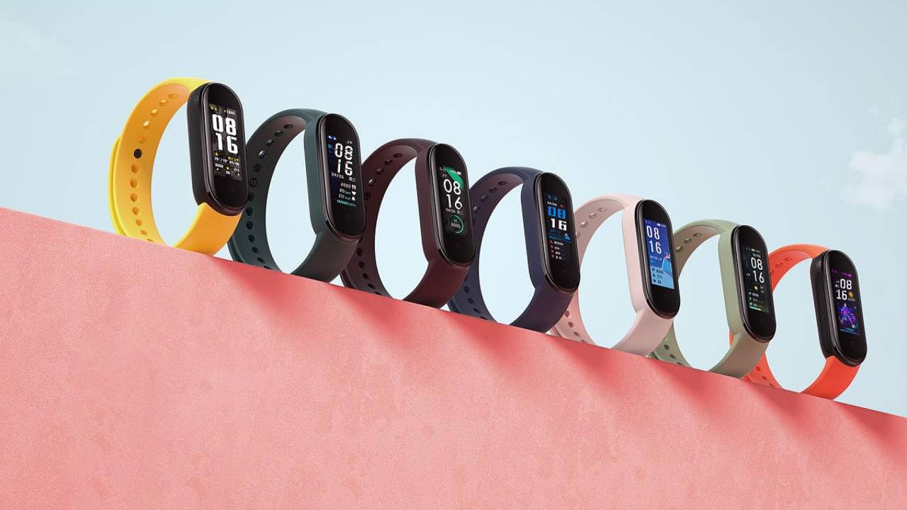 Браслет Xiaomi Mi Band 5 купить в интернет-магазине icover