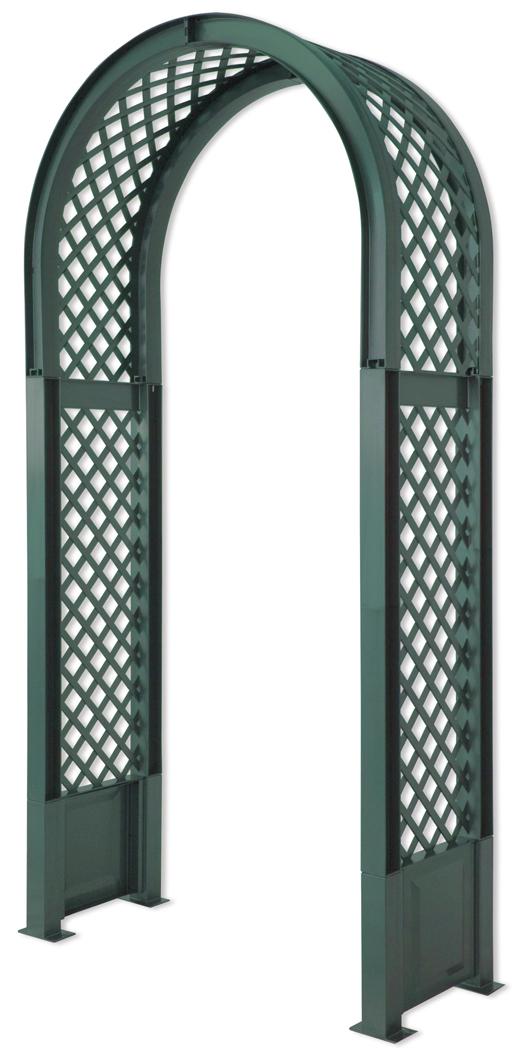 KHW 37903 - арка садовая со штырями для установки (Green)