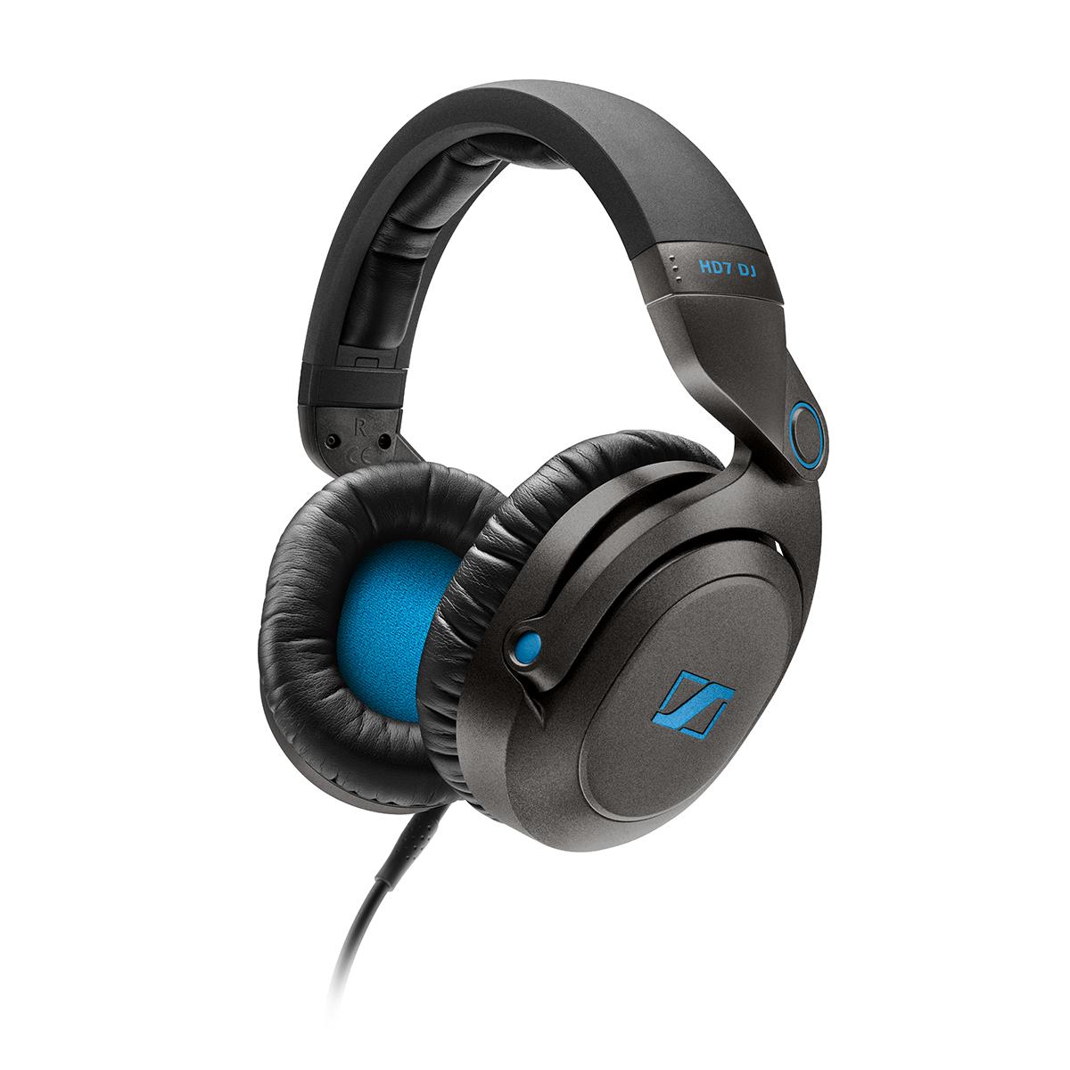 Sennheiser HD7 DJ (505790) - мониторные наушники (Black)
