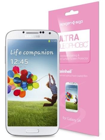 SGP Steinheil Ultra Oleophobic Screen Protector (SGP10197) - защитная пленка для Samsung Galaxy S4