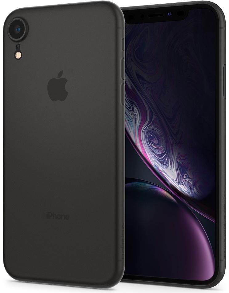 Чехол Spigen Air Skin (064CS24870) для Apple iPhone XR (Black)