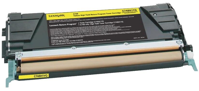 Lexmark C748H1YG - картридж для принтеров Lexmark C748 (Yellow)