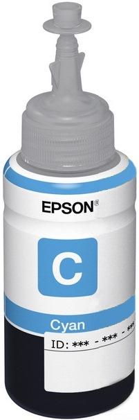Epson T6642 (C13T66424A) - чернила для принтеров Epson L100/L110/L200/L210/L300/L350/L355/L550 (Cyan)