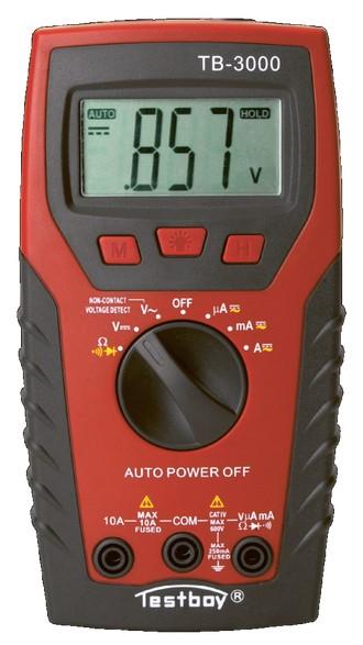 Testboy 3000 - цифровой мультиметр с детектором поврежденного кабеля и светодиодным фонарем