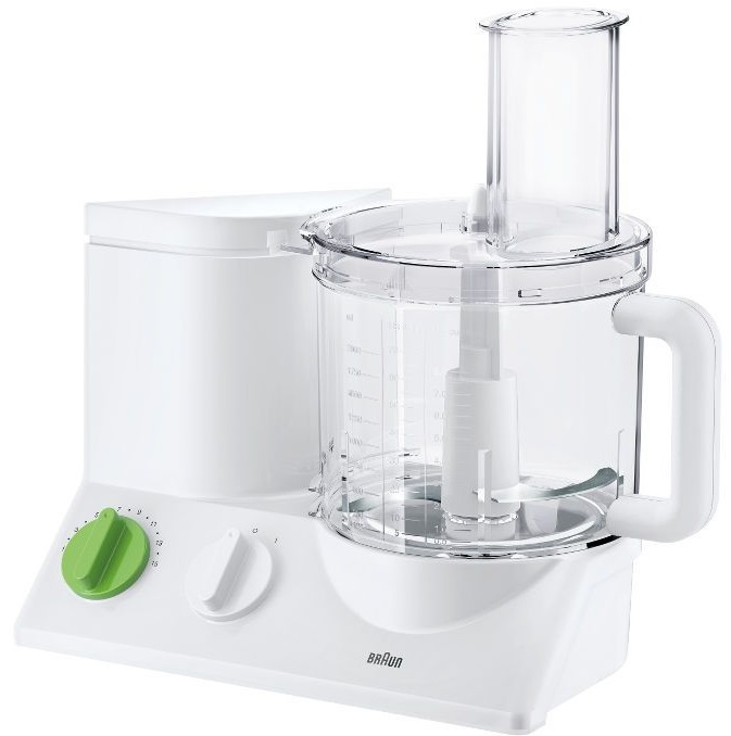 Braun FP 3010 - кухонный комбайн (White/Green)