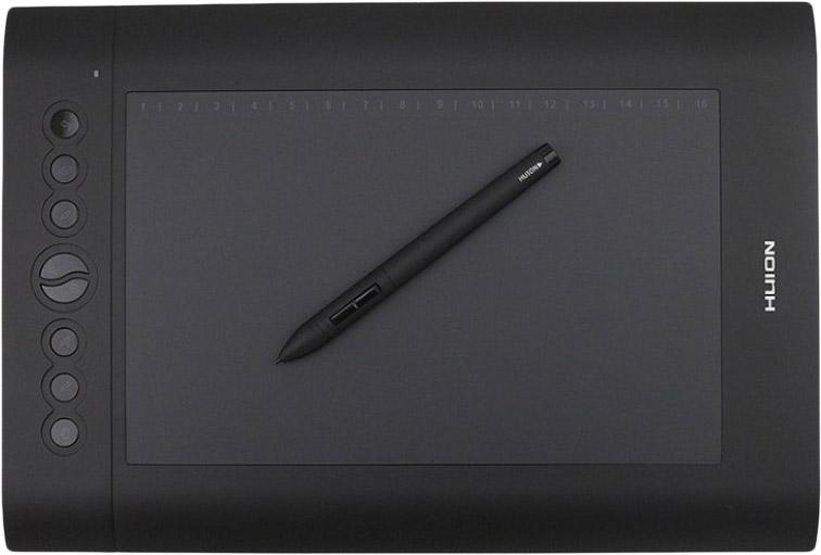 Графический планшет Huion H610PRO (Black)
