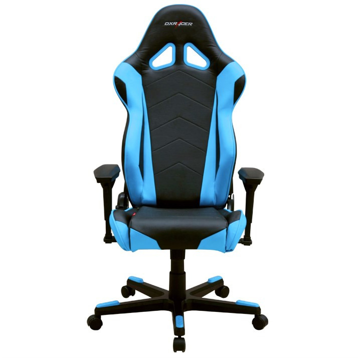 DXRacer OH/RF0/NB - компьютерное кресло (Black/Blue)