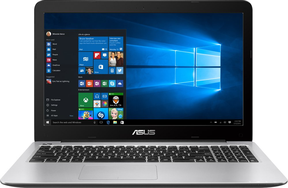 Ноутбук Asus X556UA-XO029T 15.6'' Intel Core i5 6200U 2.3Ghz, 6Gb, 1Tb HDD (90NB09S1-M00390)