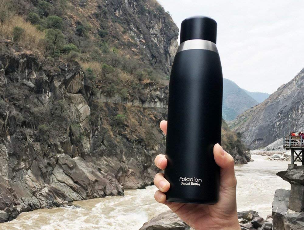 Умная бутылка Foladion Smart Water Bottle (Black)