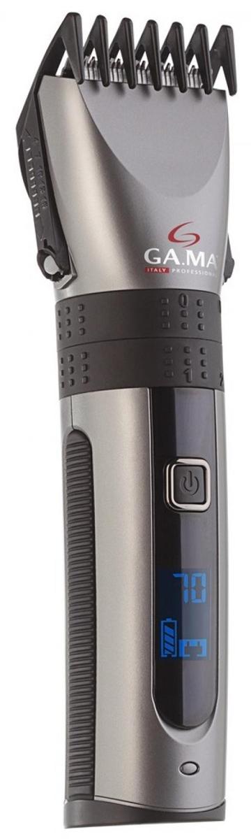 GA.MA GC 565 - машинка для стрижки волос (Silver/Black)