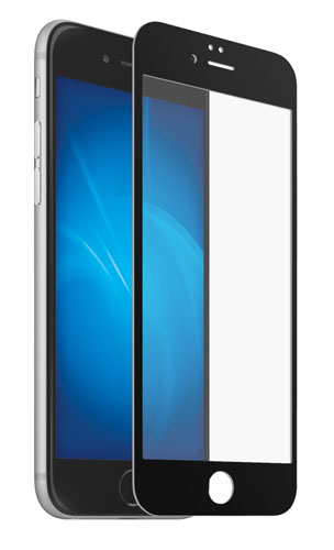 Onext 40935 - защитное стекло для Apple iPhone 6 (Black)
