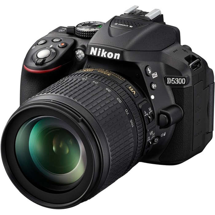 Фотоаппарат Nikon D5300 Kit (D5300 Body Black + 18-105 VR Black) от iCover