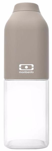 Monbento Positive 0,5 л - многоразовая бутылка (Light grey)