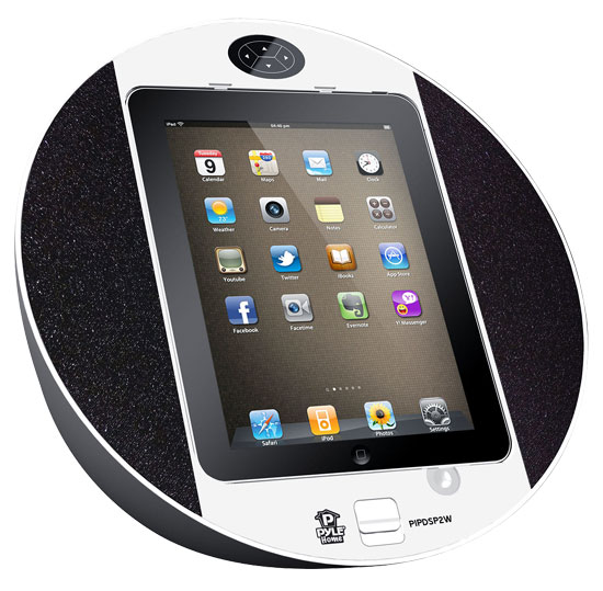 Pyle Screen Dock (PIPDSP2W) - акустическая система для iPhone/iPod Touch/iPad (White) от iCover