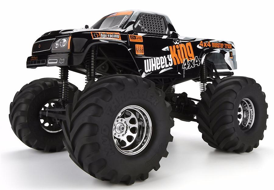 HPI Wheely King 1:10 - радиоуправляемый автомобиль (Оrange)