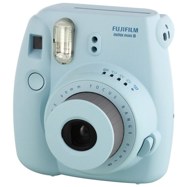Fujifilm Instax Mini 8 - камера моментальной печати (Blue)
