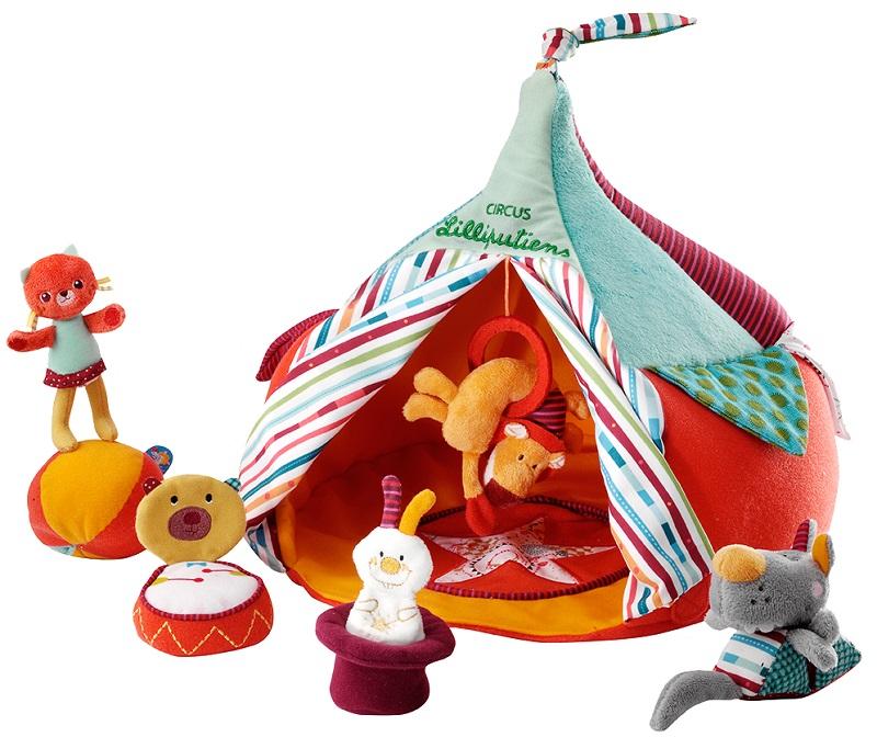 """Lilliputiens Набор мягких игрушек """"Цирк и акробаты"""" (86512)"""