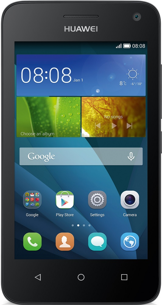 Смартфон Huawei Ascend Y5C 8Gb 3G Dual Sim (Black)Телефоны на Android<br>Смартфон<br>