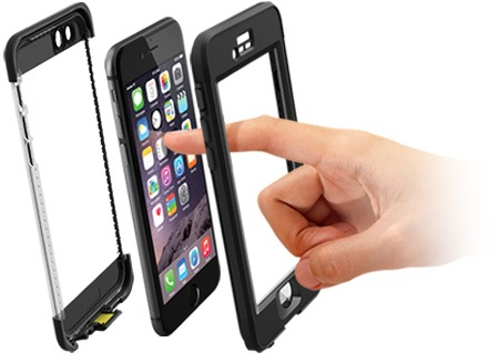 LifeProof Nuud Case - чехол для iPhone 6 (Black)