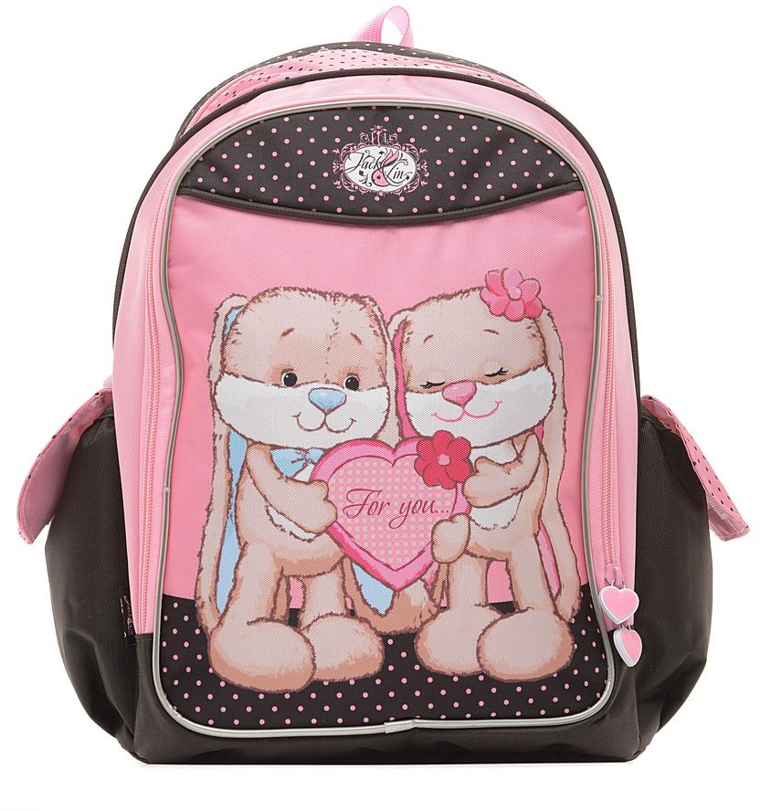 Jack and Lin (JL-SW-G2) - рюкзак (Black/Pink)