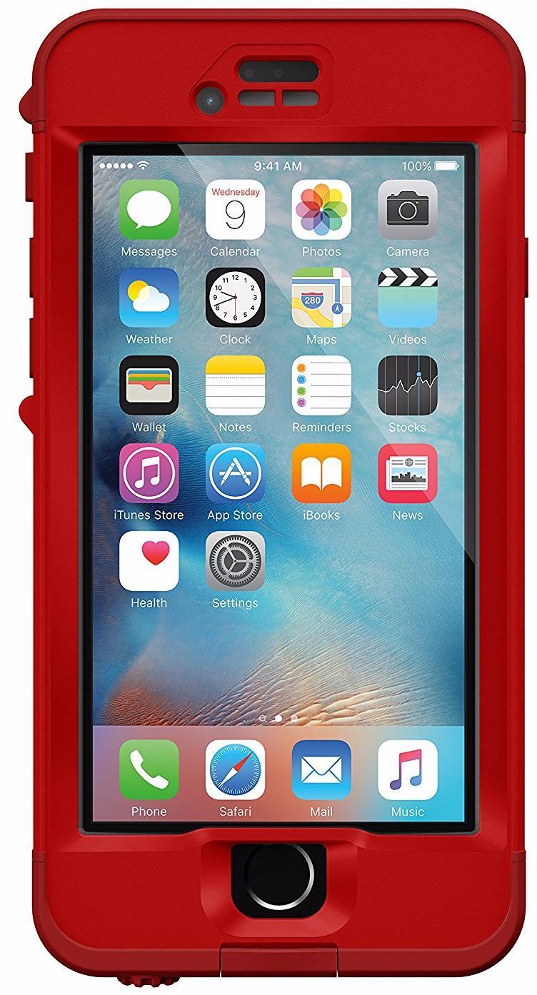 Водонепроницаемый чехол Lifeproof Nuud для iPhone 6/6S (Campfire)