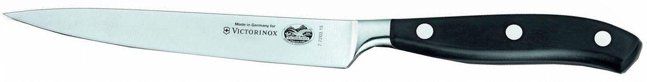 Victorinox 7.7203.15G - нож универсальный, лезвие 15 см, в подарочной упаковке (Black) от iCover