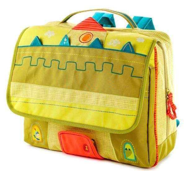 Школьный рюкзак Lilliputiens Дракон Уолтер А4 (86306)