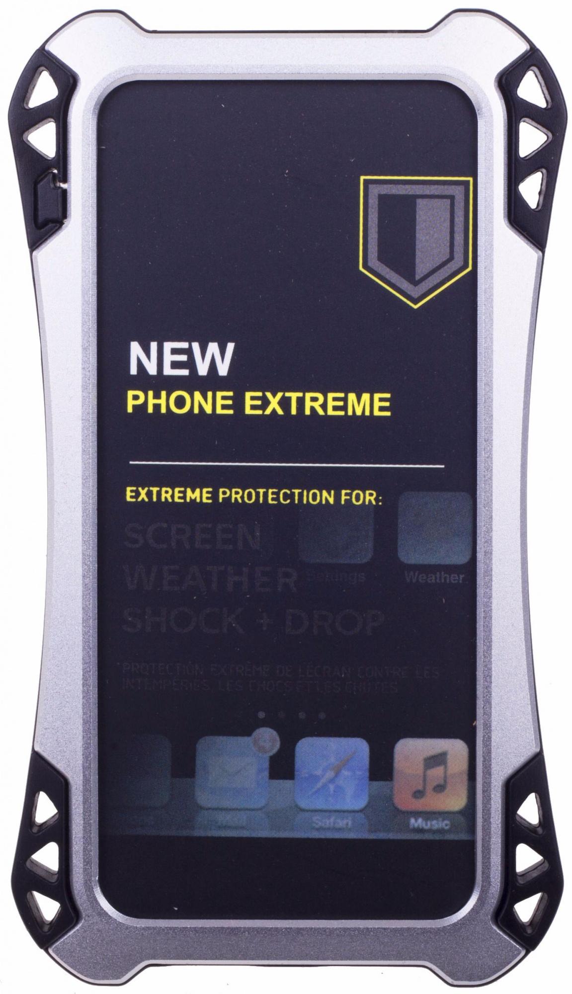 Amira Phone Extreme - защитный чехол для iPhone 5/5S/SE (Silver/Black)