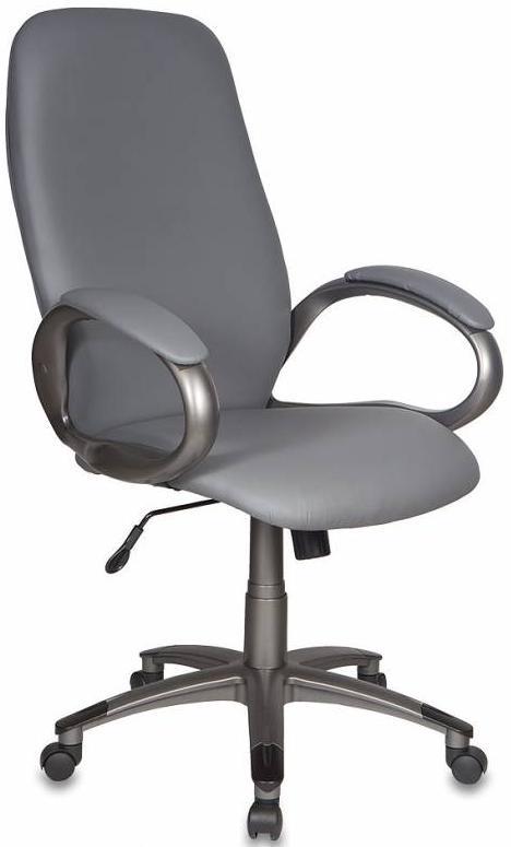 Бюрократ T-700DG/OR-17 - кресло руководителя (Grey) от iCover