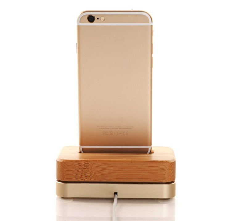 Samdi - док-станция для iPhone 5s/6 (Gold)