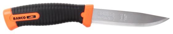 Bahco 2446 - универсальный нож 102 мм (Orange/Black)