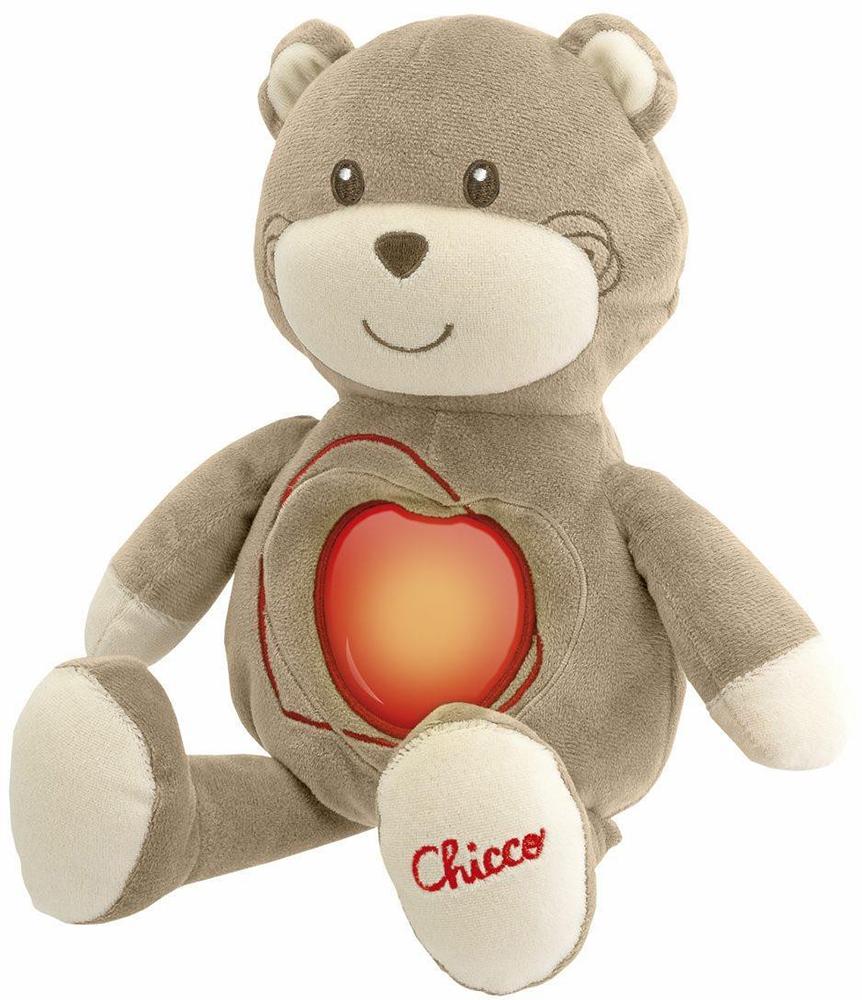 Chicco Мишка Sweetheart (10CO1255) - игрушка мягкая развивающая (Grey)