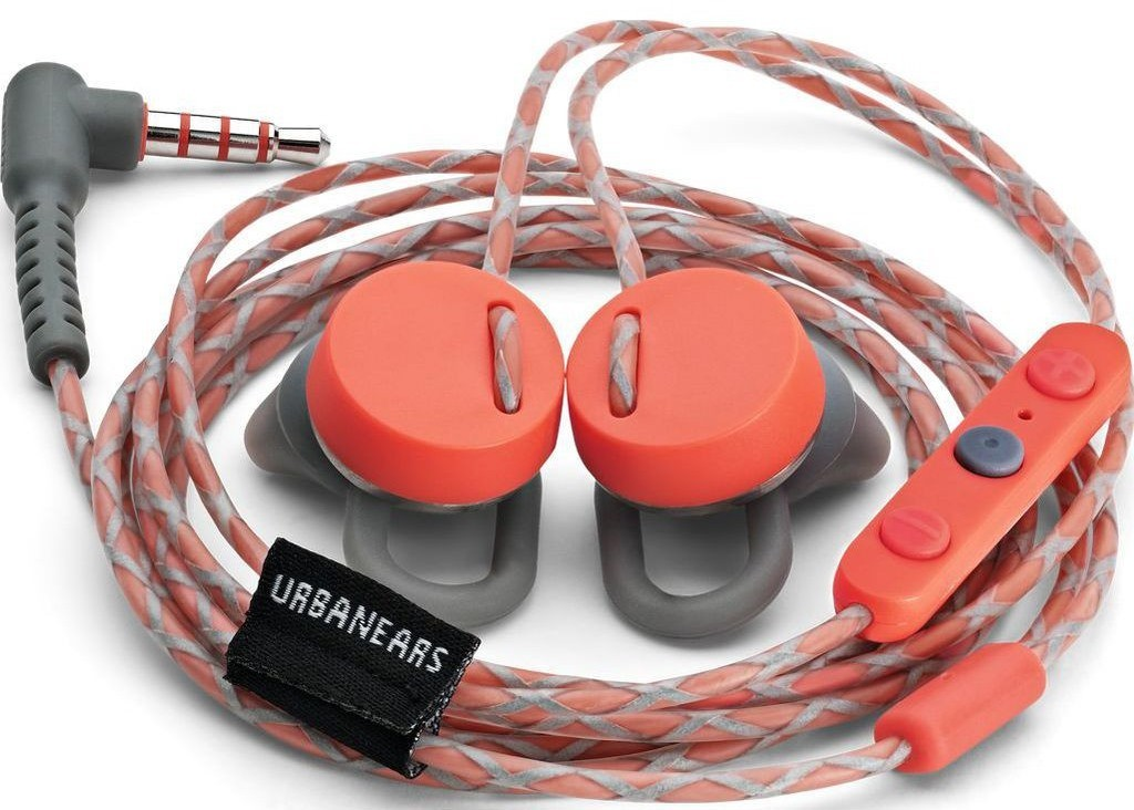 Urbanears Reimers (Apple Edition) - вставные наушники с микрофоном (Rush)